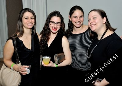 molly kurzius in The Jewish Museum's Vodka Latke Hanukkah Soiree