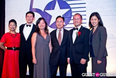 julie huang in 2012 Outstanding 50 Asian Americans in Business Award Dinner