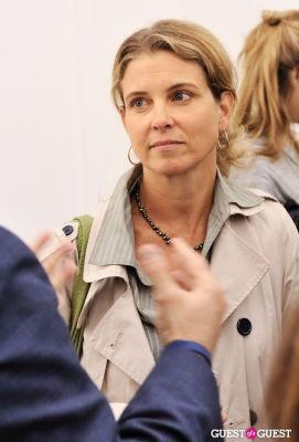 julie hubert in Kim Keever opening at Charles Bank Gallery