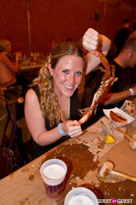 julie orchier in Hammers and Claws Crab Feast Day 2