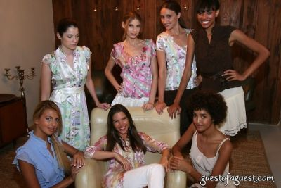 lauren amanda in Juliette Longuet Fashion show at Soho House - Sneak Peek