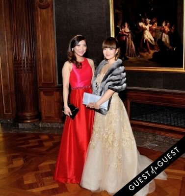 jun ge in The Frick Collection Young Fellows Ball 2015