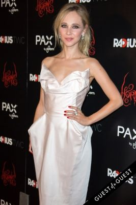 juno temple in Premiere of PAX by Ploom presents TWC's HORNS