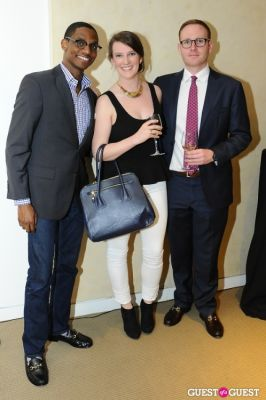 brad kavin in IvyConnect NYC Presents Sotheby's Gallery Reception