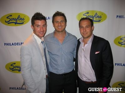 justin manne in Serafina Philadelphia Grand Opening Party