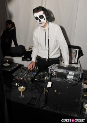 justin miller in VISIONAIRE Haolloween Party