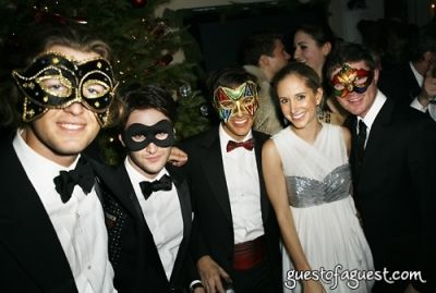 justin shaffer in Masquerade christmas party