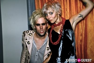 justin tranter in Semi Precious Weapons After Party.