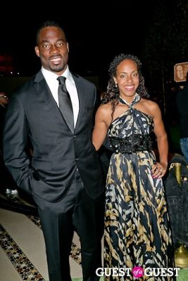 justin tuck in New Yorkers for Children 2012 Fall Gala