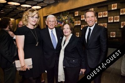 eli broad in Jeff Koons: A Retrospective Opening Reception