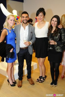 paola galeano in IvyConnect NYC Presents Sotheby's Gallery Reception