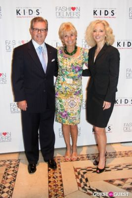 k.i.d.s. founder-karen-bromley-and-abby-parsonnet-of-fti-consulting in K.I.D.S. & Fashion Delivers Luncheon 2013