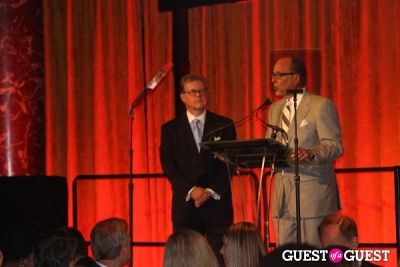 k.i.d.s. chairman-kevin-burke-and-fashion-delivers-chairman-allan-ellinger in K.I.D.S. & Fashion Delivers Luncheon 2013