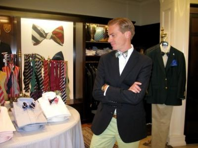 k. cooper-ray in Social Primer for Brooks Brothers Launch