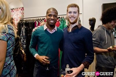 kadeem hylton in HeTexted Book Launch Party