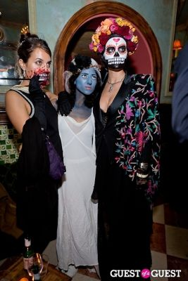 kaitia aurora in Mara Hoffman & Pamela Love celebrate Halloween