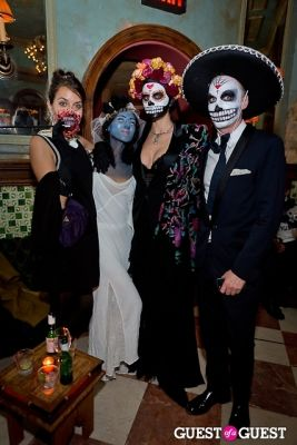 mark brown in Mara Hoffman & Pamela Love celebrate Halloween