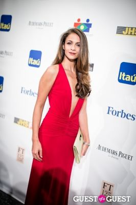 kaitlin monte in Brazil Foundation Gala at MoMa