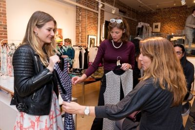 caroyln hayes in Kamila Dmowska Holiday Trunk Show