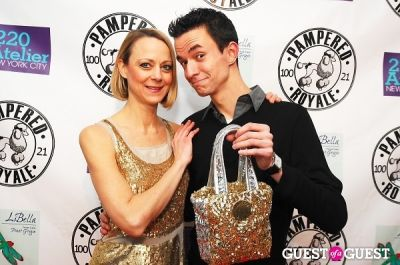 matt wayne in PAMPERED ROYALE BY MALIK SO CHIC Fall 2011 Handbag Launch