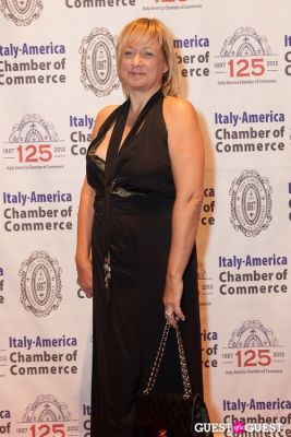 karen dome in Italy America CC 125th Anniversary Gala