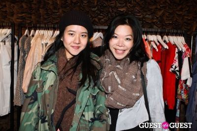 karen hsieh in Spring Selfie at Owen hosted by Danielle Bernstein of We Wore What