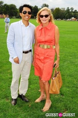 karen klopp in The 27th Annual Harriman Cup Polo Match