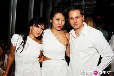 karen ko in The King Collective and ModelKarma present The End Of NYFW - White Party