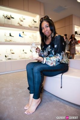 karen maria-alston in Spring Charity Shopping Event at Nival Salon and Jimmy Choo