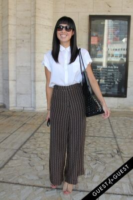 karen yung in NYFW Style From the Tents: Street Style Day 1