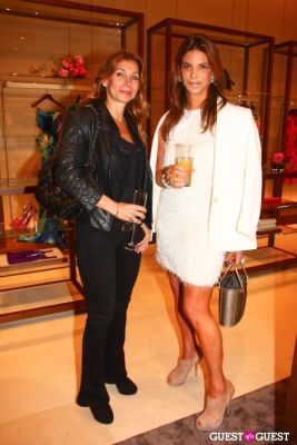karin sherman in Ferragamo Flagship Re-Opening and Mr & Mrs. Smith Launch Event