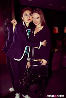 karina ivanova in Genlux Magazine Winter Release Party with Kristin Chenoweth