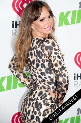 karina smirnoff in KIIS FM's Jingle Ball 2014