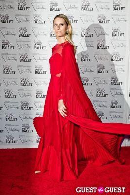 karolina kurkova in New York City Ballet Fall Gala Celebrates Valentino