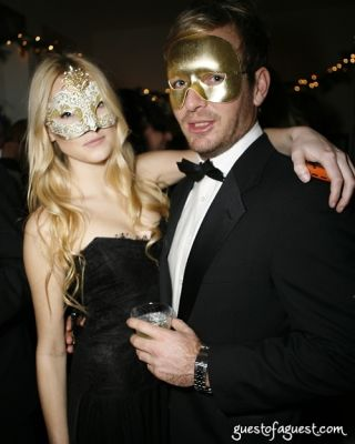 donna karan in Masquerade christmas party