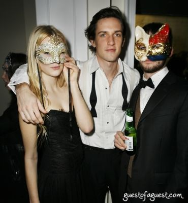 sebastian bland in Masquerade christmas party