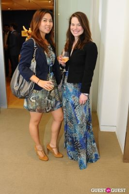 becca gardner in IvyConnect NYC Presents Sotheby's Gallery Reception
