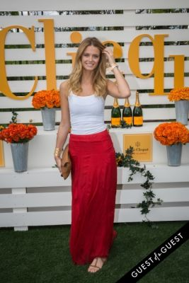 kate bock in Veuve Clicquot Polo Classic 2014