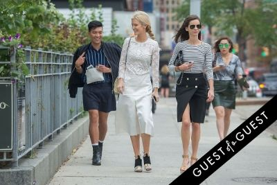 kate davidson-hudson in NYFW Style From the Tents: Street Style Day 8