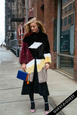 kate foley in NYFW Street Style Day 3