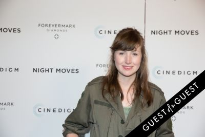 kate lyn-sheil in Night Moves Premiere