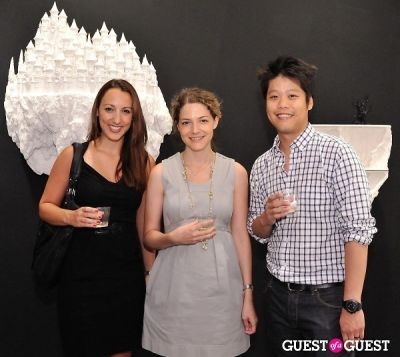 richard wong in Ronald Ventura: A Thousand Islands opening at Tyler Rollins Gallery