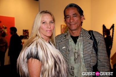 katharine story in Art Los Angeles Contemporary Opening Night Reception