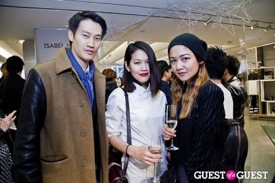 kathelia phurungruang in BOYY SS14 Launch at Bergdorf's