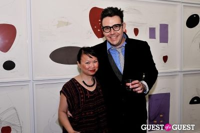 katherine chan in Jorinde Voigt opening reception at David Nolan Gallery
