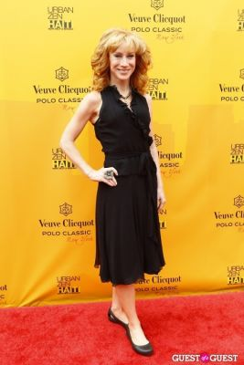 kathy griffin in Veuve Clicquot Polo Classic at New York