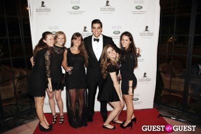 alex davis in St Jude Children's Hospital 2013 Gold Gala