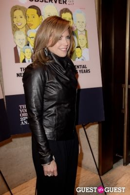 katie couric in The New York Observer 25th Anniversary