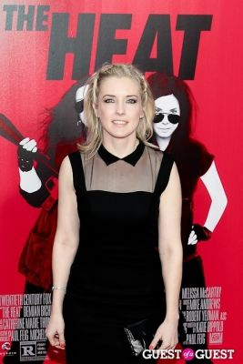 katie dippold in The Heat Premiere