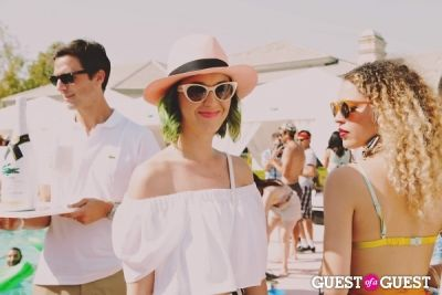 katy perry in Coachella: LACOSTE Desert Pool Party 2014